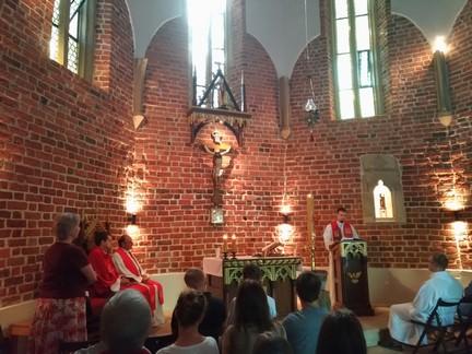 Messe de fin de stage à Rybnic