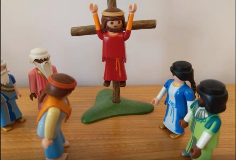 """La mort en croix - """"Mère voici ton Fils"""""""