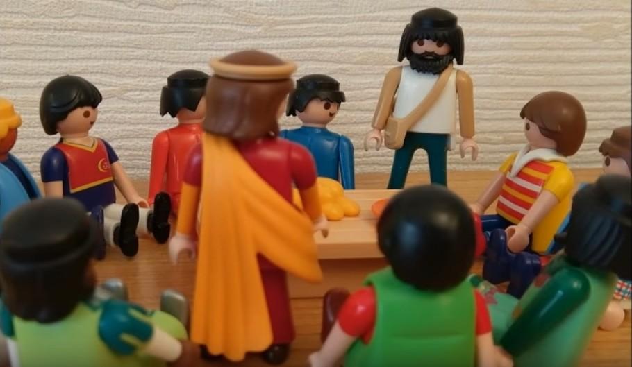 La Cène - Judas se lève et quitte la Cène