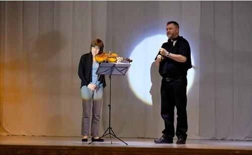 Dorota Anderszewska, violon solo supersoliste de l'Orchestre national Montpellier,