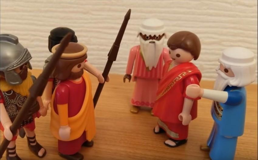 L'arrestation - - Jésus est jugé et condamné