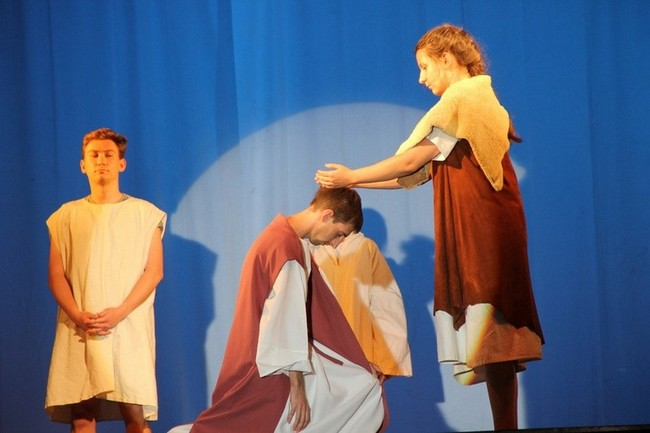 La représentation (baptême de Jésus) - Rybnic