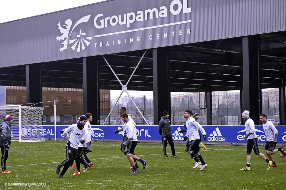 Groupama OL Training Center à Lyon mis en service en Juillet 2016