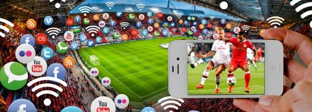 Utilisation des technologies dans un stade connecté