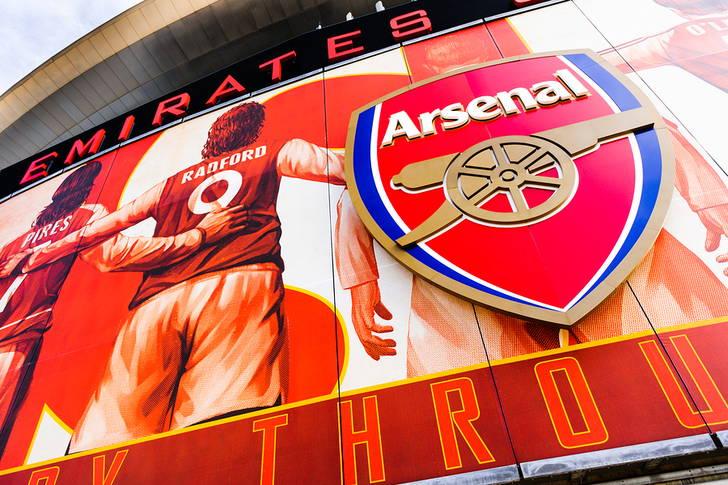 Emirates Stadium à Londres, stade de Arsenal