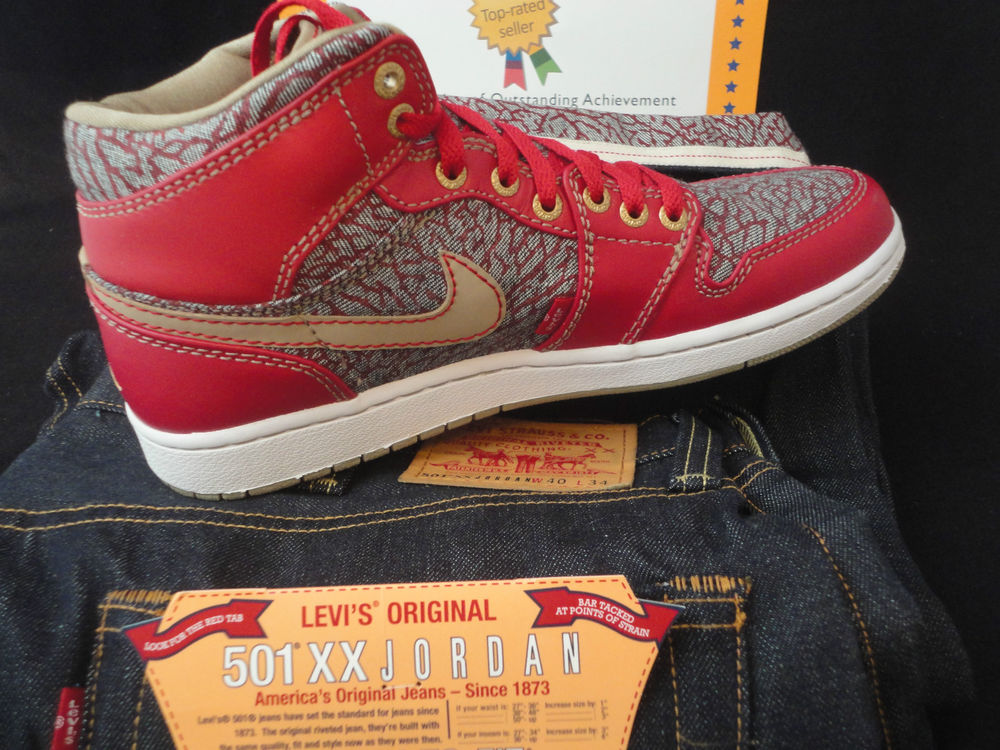 La collaboration en Levi's x Air Jordan I