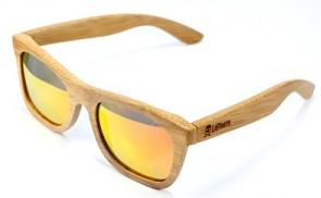 Lentes de madera LePirate Natural Sunset