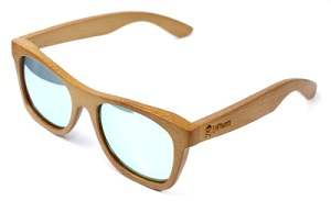 Gafas de Bambu LePirate Natural Lemon