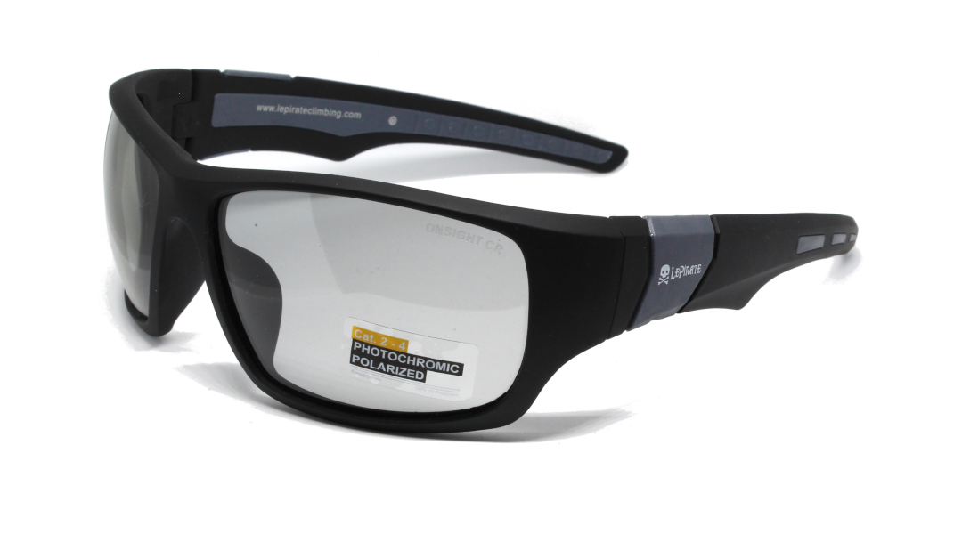Rubber Black / Grey Fotochromic