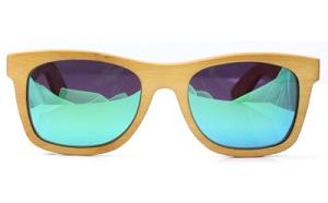 Óculos de bambu polarizados LePirate