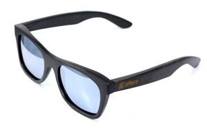 Glasses LePirate Bamboo Black polarized