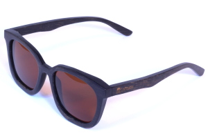 lunettes de bambou polarisées femme