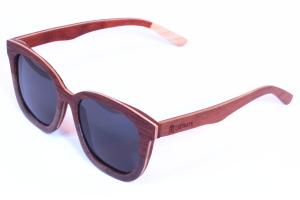 polariseret bambus briller kvinde