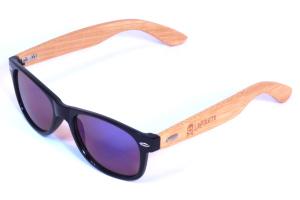 polarisierte Bambus Brille Frau