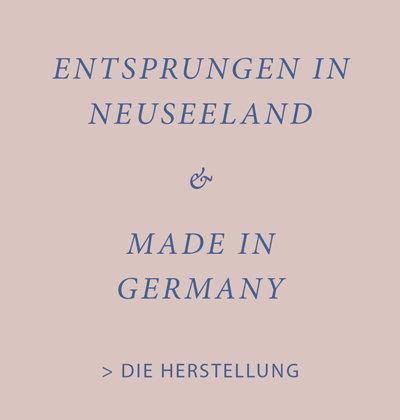Neuseeland made in Germany Herstellung
