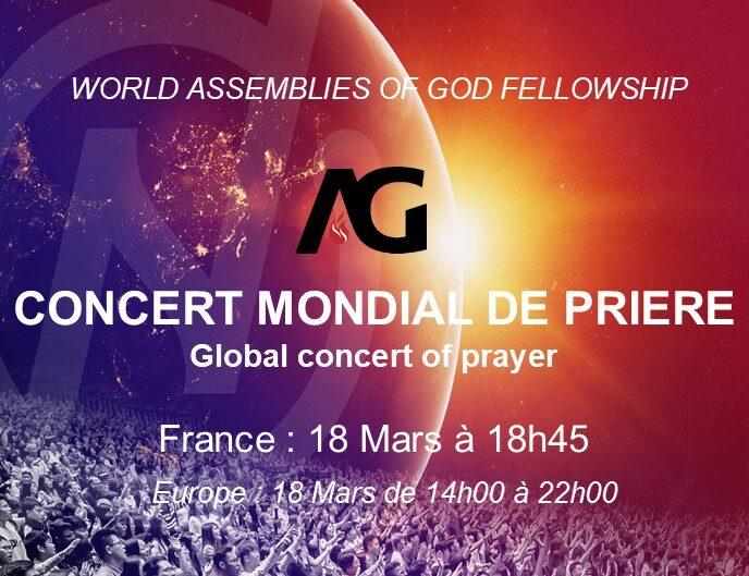 UNADF -  Concert mondial de prière