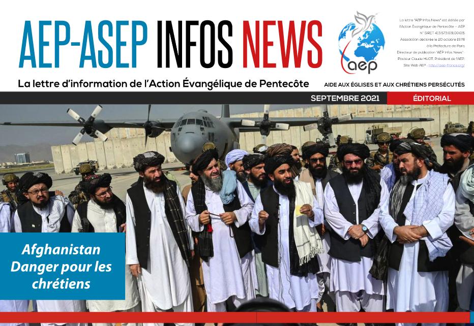 AEP-ASEP Infos News 09/2021 - Action Évangélique de Pentecôte
