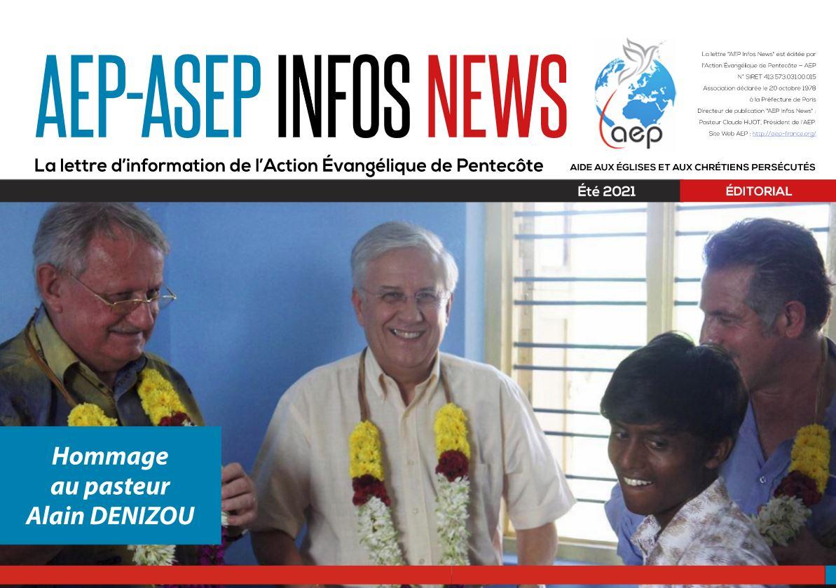 AEP-ASEP Infos News – été 2021