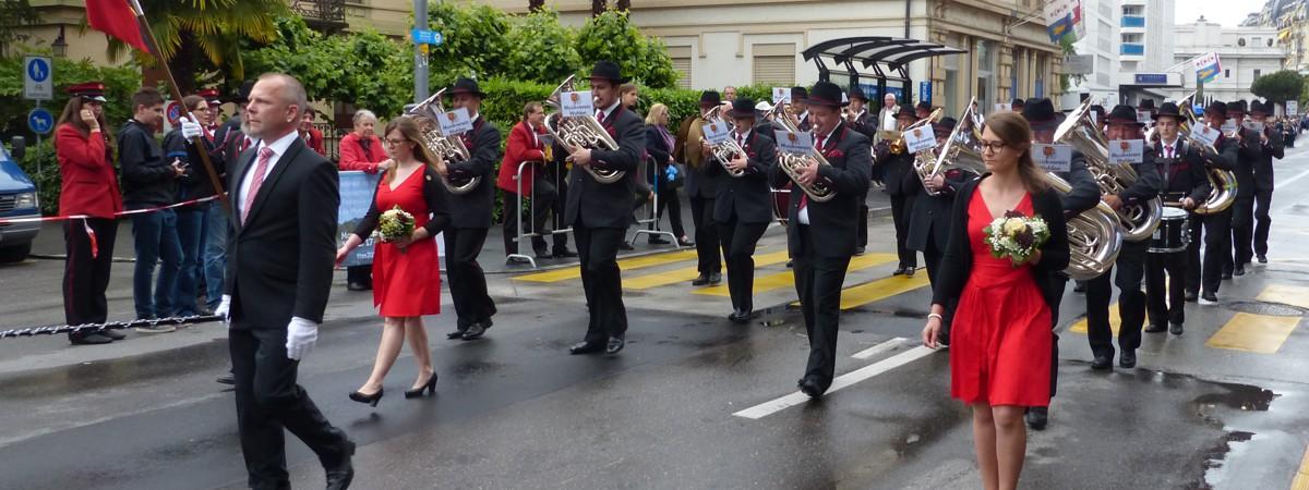 Eidgenössisches Musikfest 2016 in Montreux