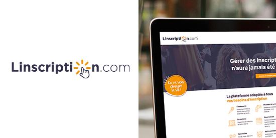 Logo Linscription.com - Plateforme de gestion d'inscriptions en ligne
