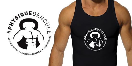 Logo Physique d'enculé - Vêtements sportswear