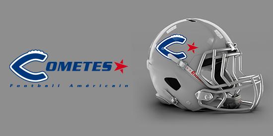 Logo Comètes de Montrabé - Football Américain, Flag, Cheerleading