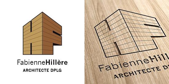 Logo Fabienne Hillère - Architecte bois