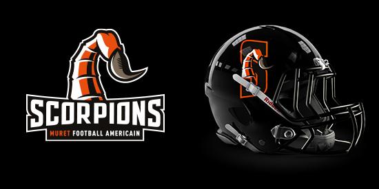 Logo Scorpions de Muret - Football Américain