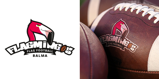 Logo Flagmingos de Balma - Flag Football