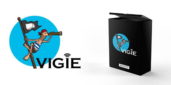 Logo Vigie - Système de géolocalisation de Novacom