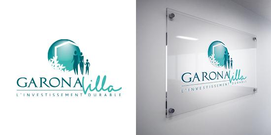 Logo Garonna Villa - constructeur de maison individuelle