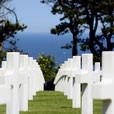 COLLEVILLE SUR MER - Le cimetière américain - 56 km
