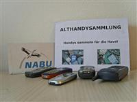 Alte Handys für die Havel. - Foto: Kathy Büscher