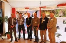 Bruno Scheel mit den Anderen auf der LVV 2013 ausgezeichneten Ehrenamtlichen.