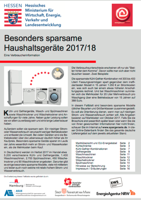 Liste der sparsamsten Haushaltsgeräte, pdf-Download