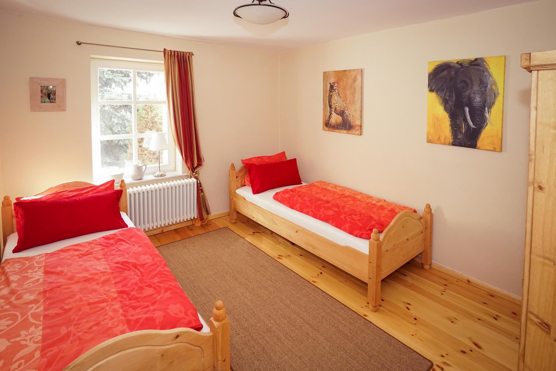 MINNA'S Schlafgemach (2) - separates Schlafzimmer mit 2 Einzelbetten