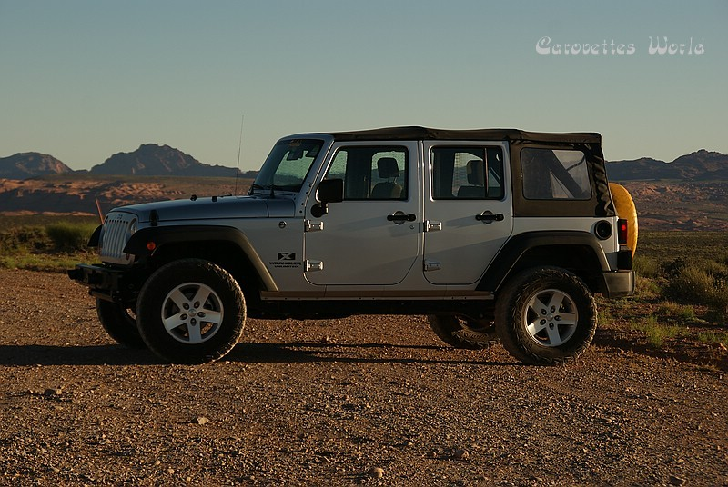 Unser Jeep für die CBS