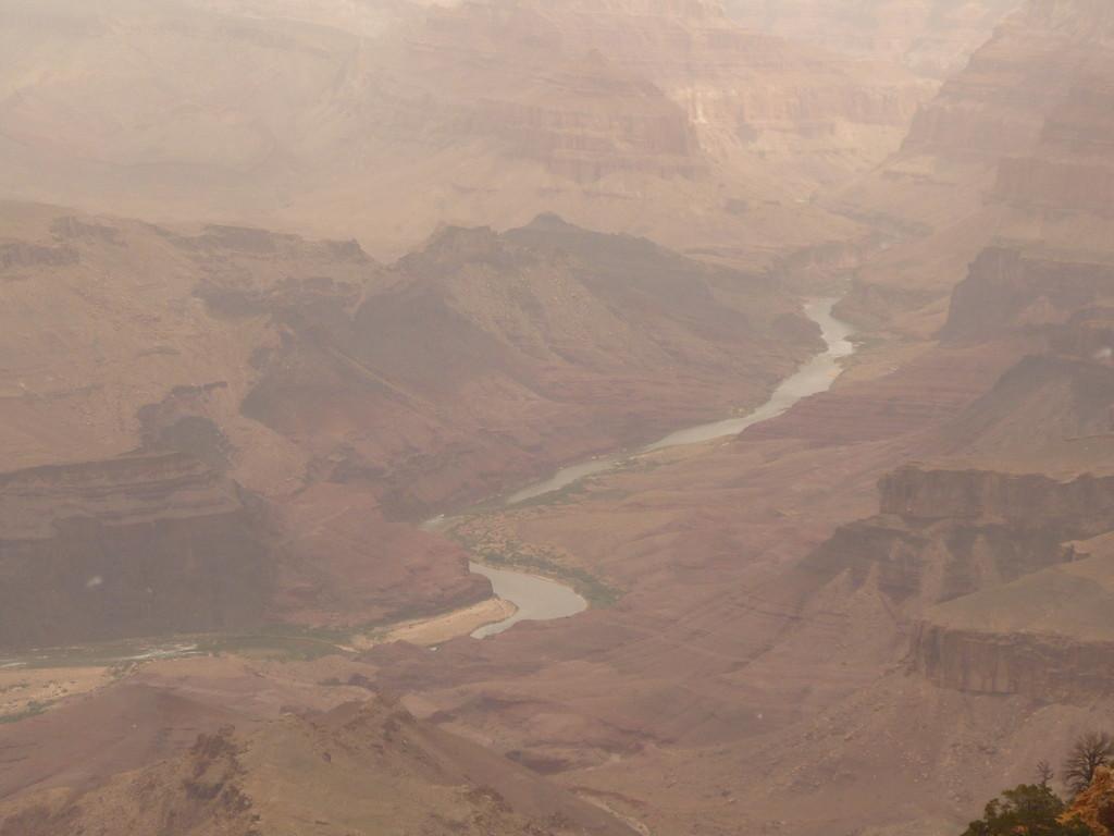 Blick vom Watchtower auf den Colorado