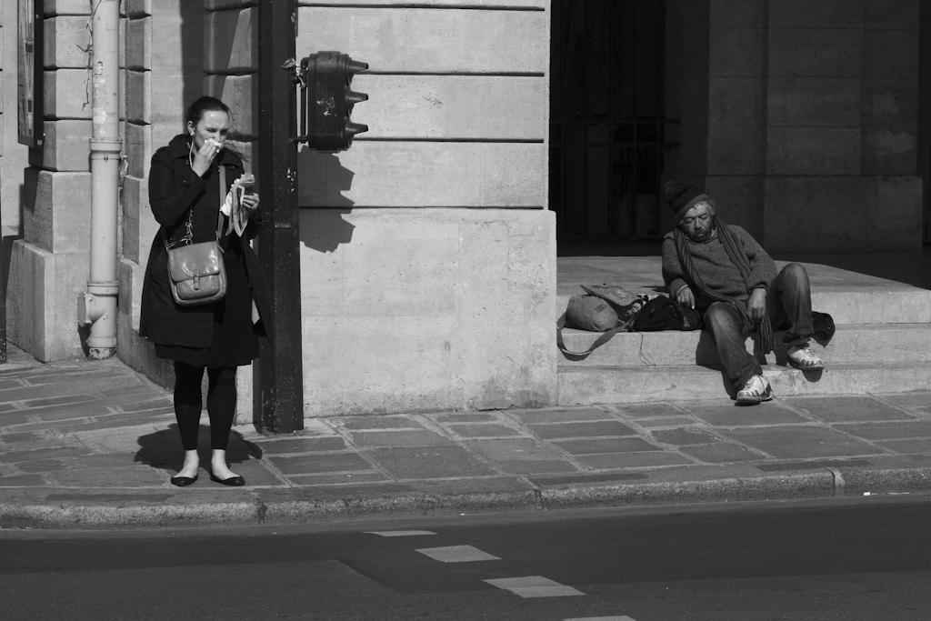 Rodolphe Labrador © A l'angle du théatre de l'Odéon, 2011
