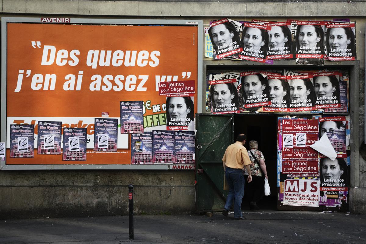 Rodolphe Labrador © Campagne éléctorale-2007