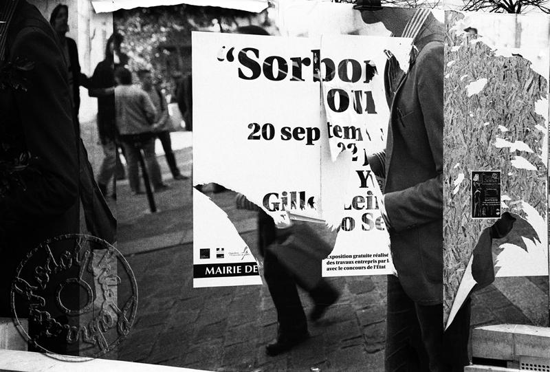 Rodolphe Labrador © Place de la Sorbonne-2005
