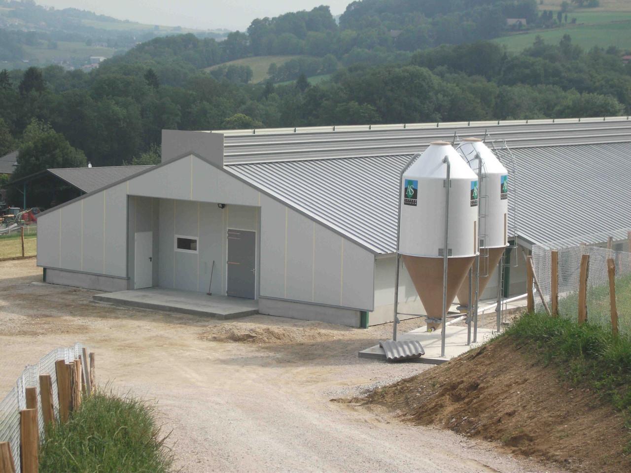 B timents avec jardin d 39 hiver bfc constructions construction de b tim - Construire un batiment industriel ...
