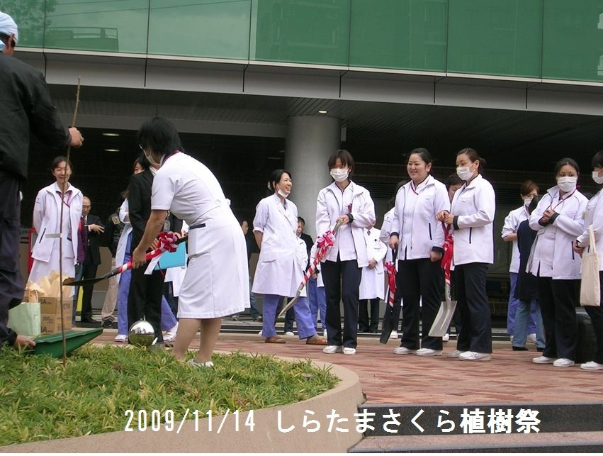 2009/11/14植樹祭
