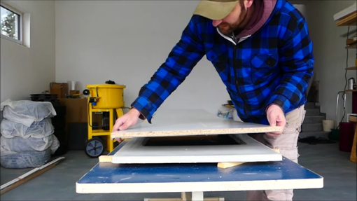 Eine Küchenarbeitsplatte aus Beton selber bauen