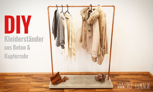 DIY Kleiderständer selber bauen