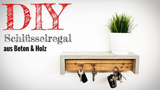 DIY Schlüsselregal selber bauen