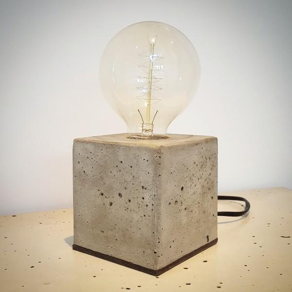 Edison Betonlampe selber machen -DIY - Betonmöbel einfach ...