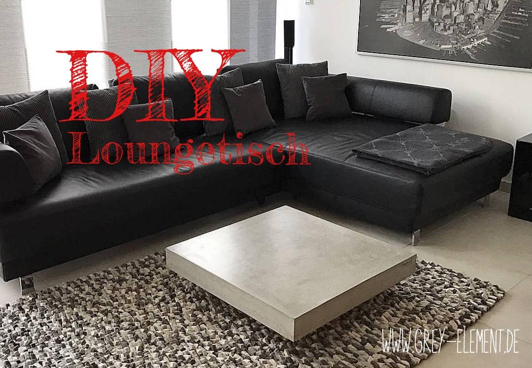 einen couchtisch aus beton selber bauen - diy / - betonmöbel einfach