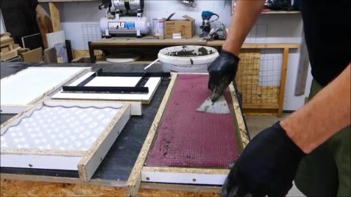 Betonarmierung aus Glasfasergewebe