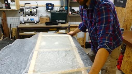 Waschtischplatte selber bauen